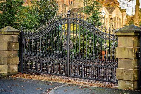 simple decorative metal garden high quality entrance
