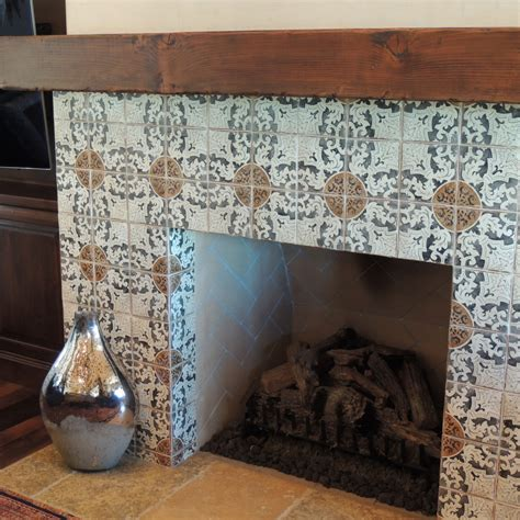 Terracotta Fireplace by Pics For Gt Terracotta Tiles Fireplace