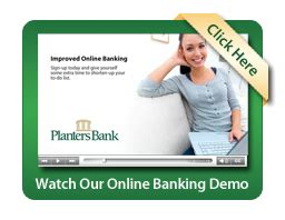 Planters Bank Personal E Banking Planters Bank Hopkinsville Kentucky
