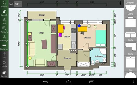 free floor plan maker with 3d home plans rectangular room floor plan creator android apps on google play