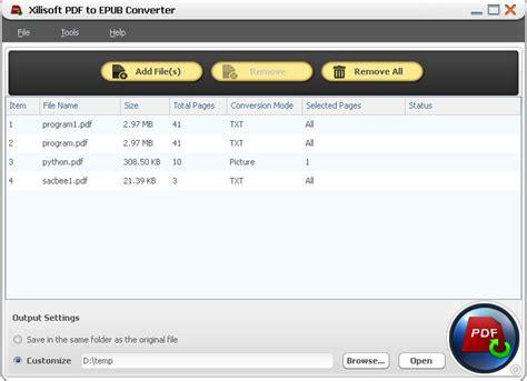 convertidor de imagenes a pdf descargar xilisoft convertidor de pdf a epub descargar gratis