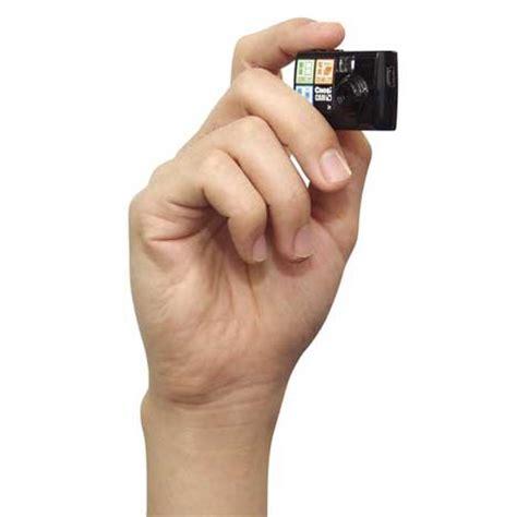 super small mini memories tiny digital camera smaller than a matchbox