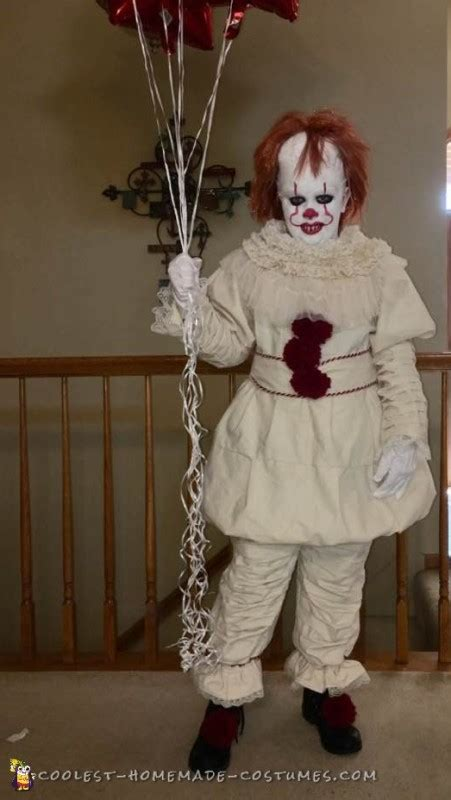 Best Handmade Costumes - the best pennywise 2017 costume
