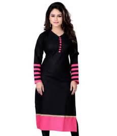 Meetu black cotton kurti price in india buy meetu black cotton kurti