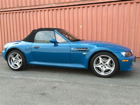 2002 Bmw M Roadster by Buy Used 2002 Bmw Z3 M Roadster Convertible 2 Door 3 2l
