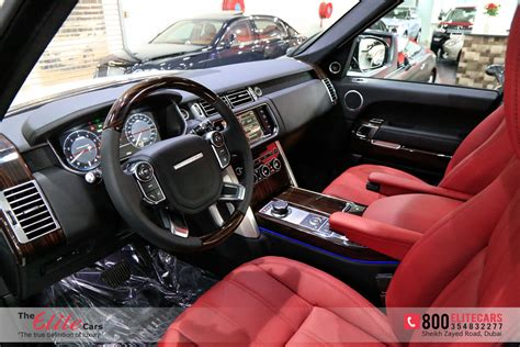 black land rover interior range rover vogue 2014 red interior www pixshark com