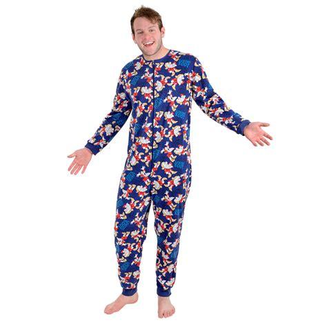 Navy Tsum Tsum Family Mens Pajamas disney mens 100 grumpy onesie pyjamas pjs all in