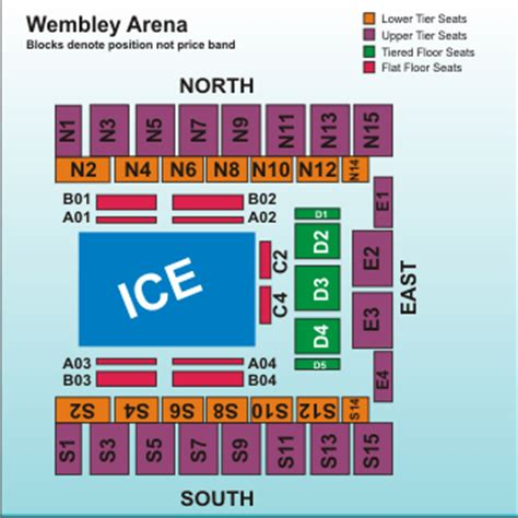 wembley arena floor plan disney on ice silver anniversary celebration london