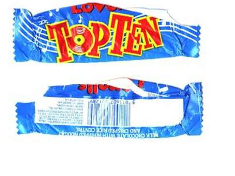 top ten candy bars index of tuckshop wrappers chocolate filled