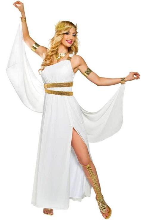 94 Best Images About Halloween On Pinterest Greek   goddessey goddess venus adult costume greek or roman