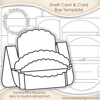 ebook shelf cards template large shelf card card box template commercial use ok 163
