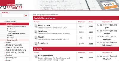 Forums Mm Forum | mm forum neue forums extension f 252 r typo3 open mind