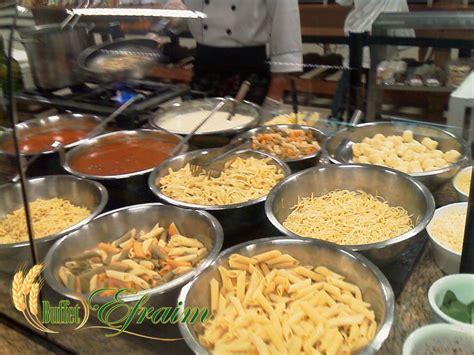 buffet de massa show a domicilio buffet efraim