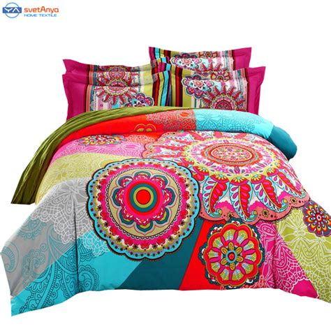 winter comforter sets aliexpress com buy bohemia duvet cover set winter
