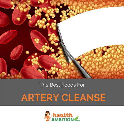 Artery Detox by The 5 Best Artery Cleansing Foods