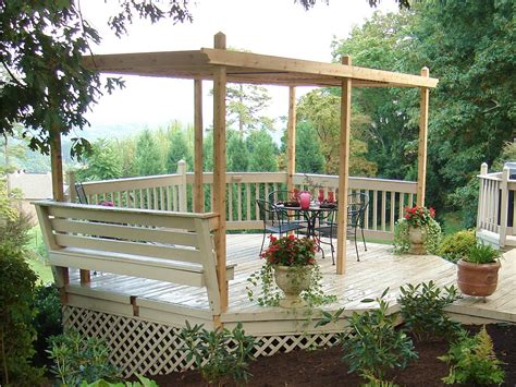 building a patio how to build a backyard pergola hgtv