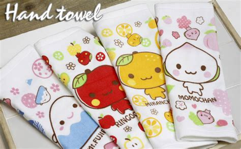 Tangan Mini Handuk Kecil Karakter handuk kecil dengan karakter jepang momo chan kadounik