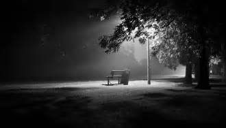 White And Black Bench The Park Bench A Photographer S True Skill On