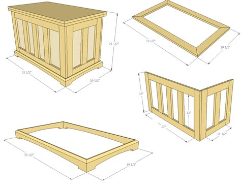 build  pocket hole blanket chest jays custom