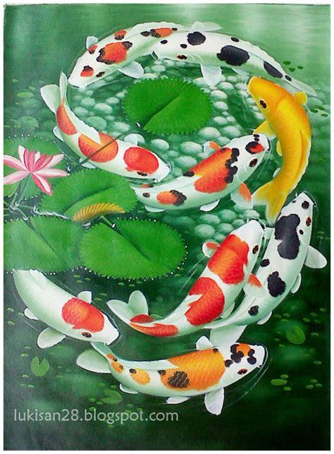 makna tato ikan koi makna lukisan 9 koi zona info dunia