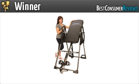 inversion table reviews consumer reports 2015 best inversion table reviews top inversion table