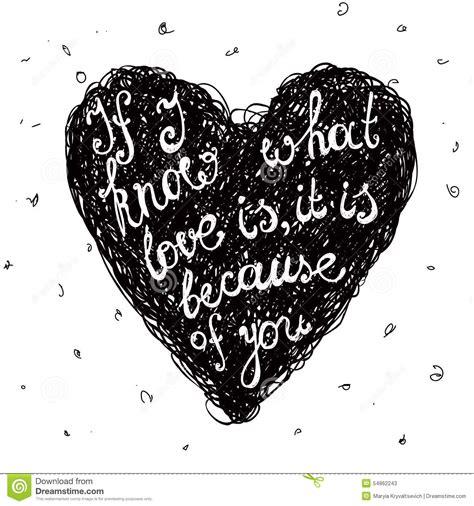 imagen en blanco y negro romanticas cita blanco y negro del amor del vector frase en