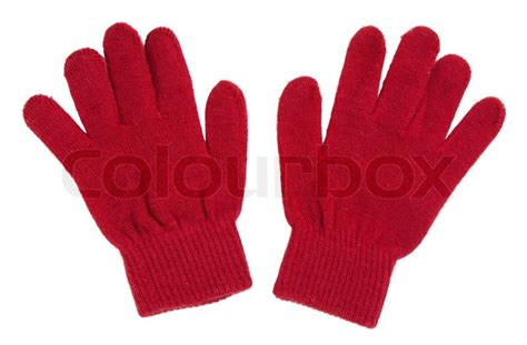 New Home Design Jobs by A Pair Of Red Gloves Stock Photo Colourbox