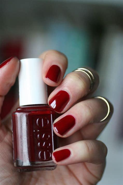 burgundy nail polish colors the 25 best essie bordeaux ideas on pinterest brown