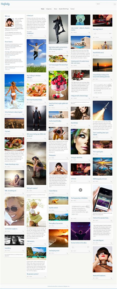 pinterest layout plugin 20 best pinterest style wordpress themes 2018 athemes