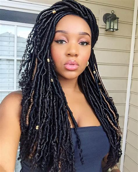 Best 26 Faux Locs with Marley Hair for This Year   New Natural Hairstyles