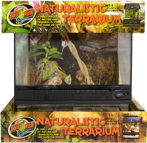 Zoo Med L by Zoo Med Small Naturalistic Terrarium