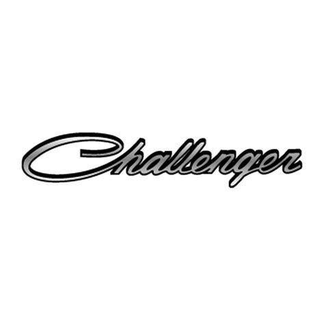 logo dodge challenger dodge challenger logo decal