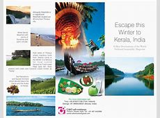 C & O ad-ventures: Visit Kerala Information Leaflet Kerala Tourism Brochure
