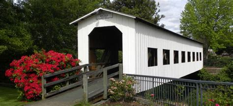 Cottage Grove Covered Bridge Tour Route by 25 B 228 Sta Cottage Grove Id 233 Erna P 229 Vattenfall