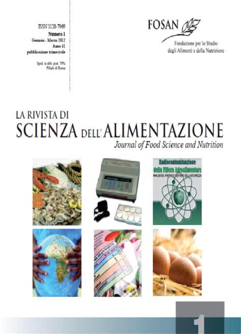 master alimentazione e nutrizione 187 riviste alimentazione e nutrizione