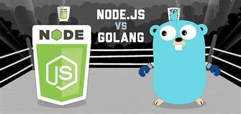 nodejs  golang battle    gen languages