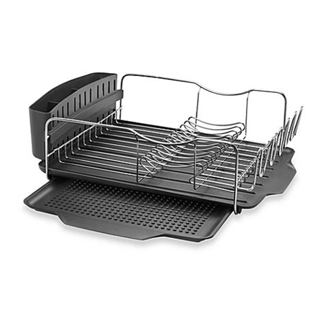 bed bath and beyond dish rack polder 174 model kth 615 4 piece advantage dish rack system