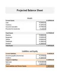 year end balance sheet template best photos of projected balance sheet sle balance
