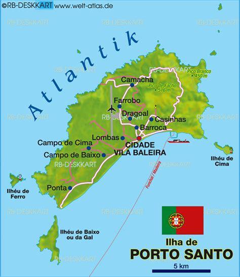 porto santo portugal map of porto santo portugal map in the atlas of the