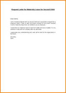 Certification Letter For Maternity Leave maternity leave letter request letter for maternity leave for second