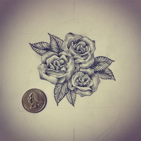 small tattoos for me small roses sketch d sketches