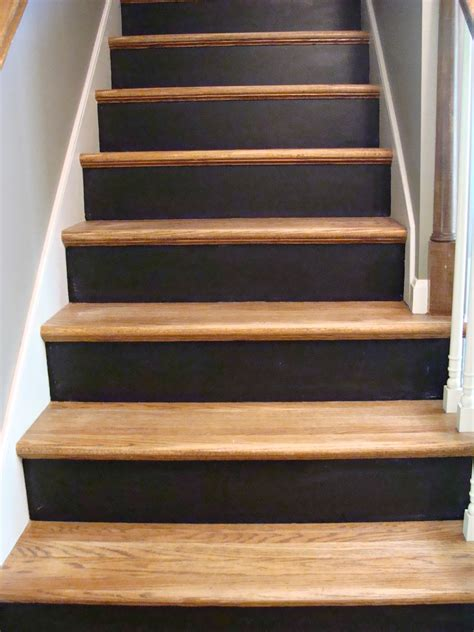 diy chalk paint steps chalkboard stairs home chalkboards