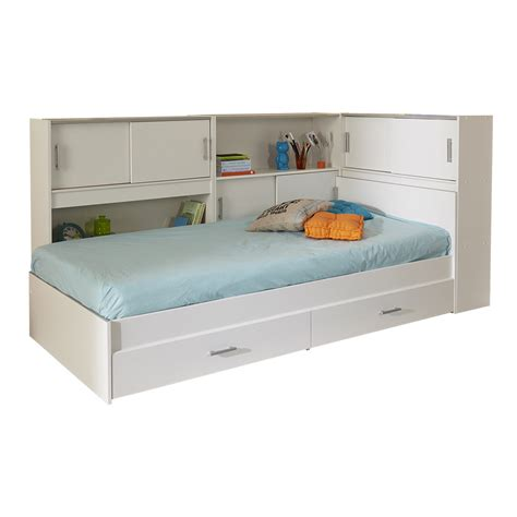 twin storage bed parisot snoop twin bed with storage wayfair supply