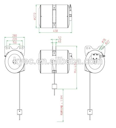 wiring diagram for electric chain hoist wiring picture