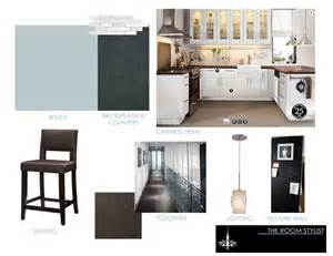 kitchen design boards the room stylist concept boards