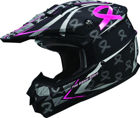 womens motocross helmet 99 95 gmax womens gm76x limited edition pink ribbon 196176