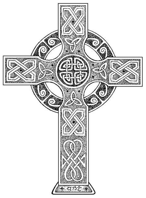 Pencil Drawings Of Celtic Crosses wyndstar artworks