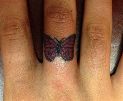 22 best tattoo inspiration images collection of 25 small butterfly ring in fingure