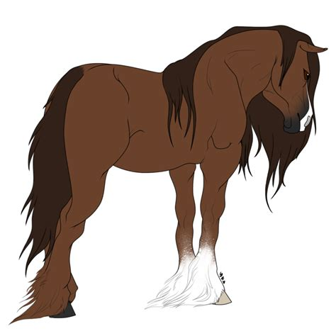 horse templates for photoshop free psd draft horse lineart by wolfpawdoptables on deviantart