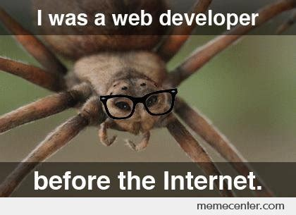 Shower Spider Meme - web developer memes best collection of funny web